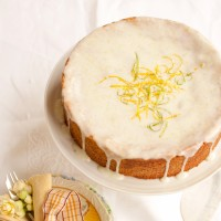 Lemon & lime drizzle cake recipe