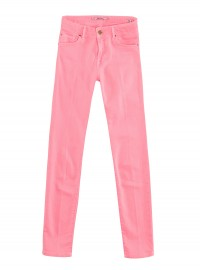 Zara Satin Pink Trousers 