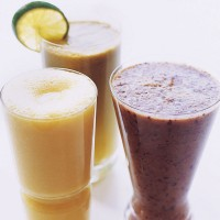 Blue breakfast juice recipe