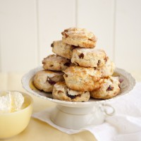 Cherry and almond scones recipe