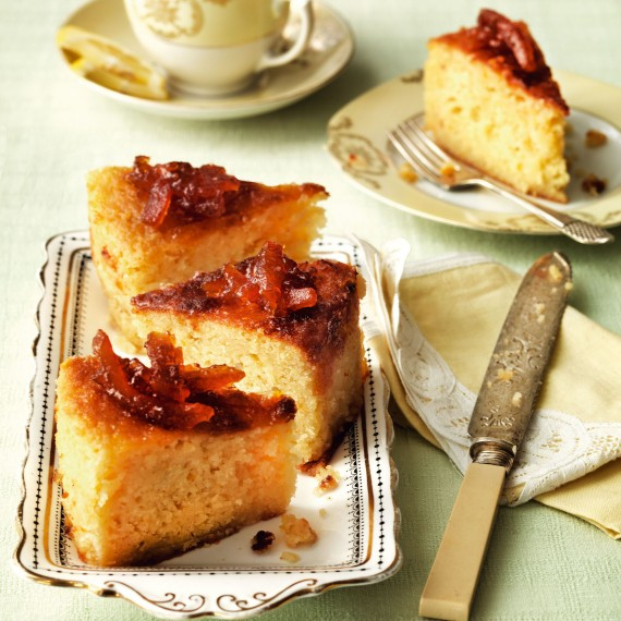 Sticky orange and almond cake with marmalade glaze recipe-recipes-recipe ideas-woman and home