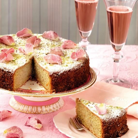 Rosewater Tea Cake Recipe