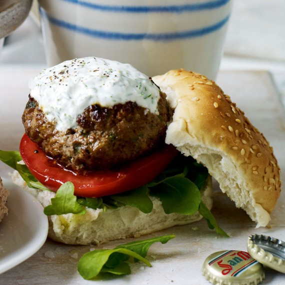 Middle Eastern burger recipe-burger recipes-recipe ideas-new recipes-woman and home