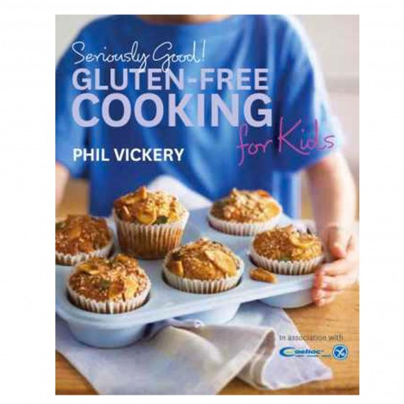 Buy Phil's cookbook, Seriously Good! Gluten-free Cooking for Kids here ...