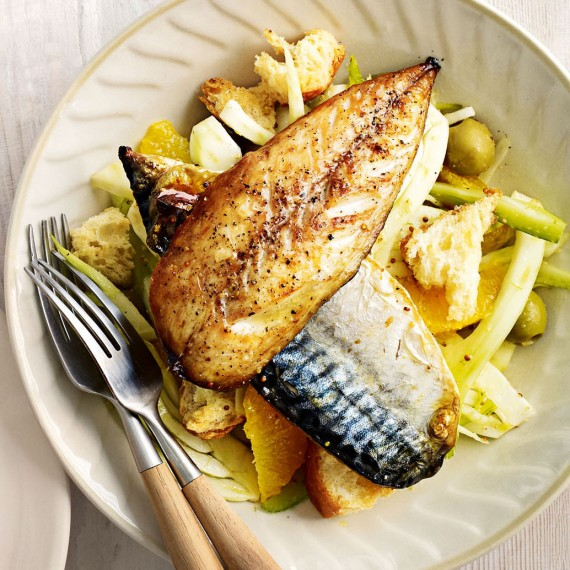 Fresh Mackerel Salad With Fennel And Orange Recipe