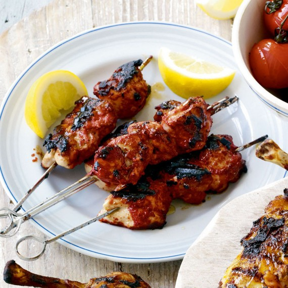 Tandoori chicken Kebabs recipe-chicken recipes-recipe ideas-new recipes-woman and home