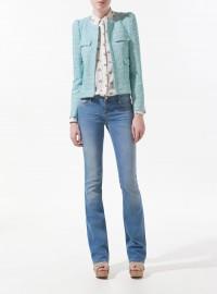 Zara Fantasy Fabric Blazer