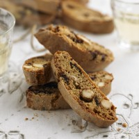 Almond and chocolate biscotti recipe