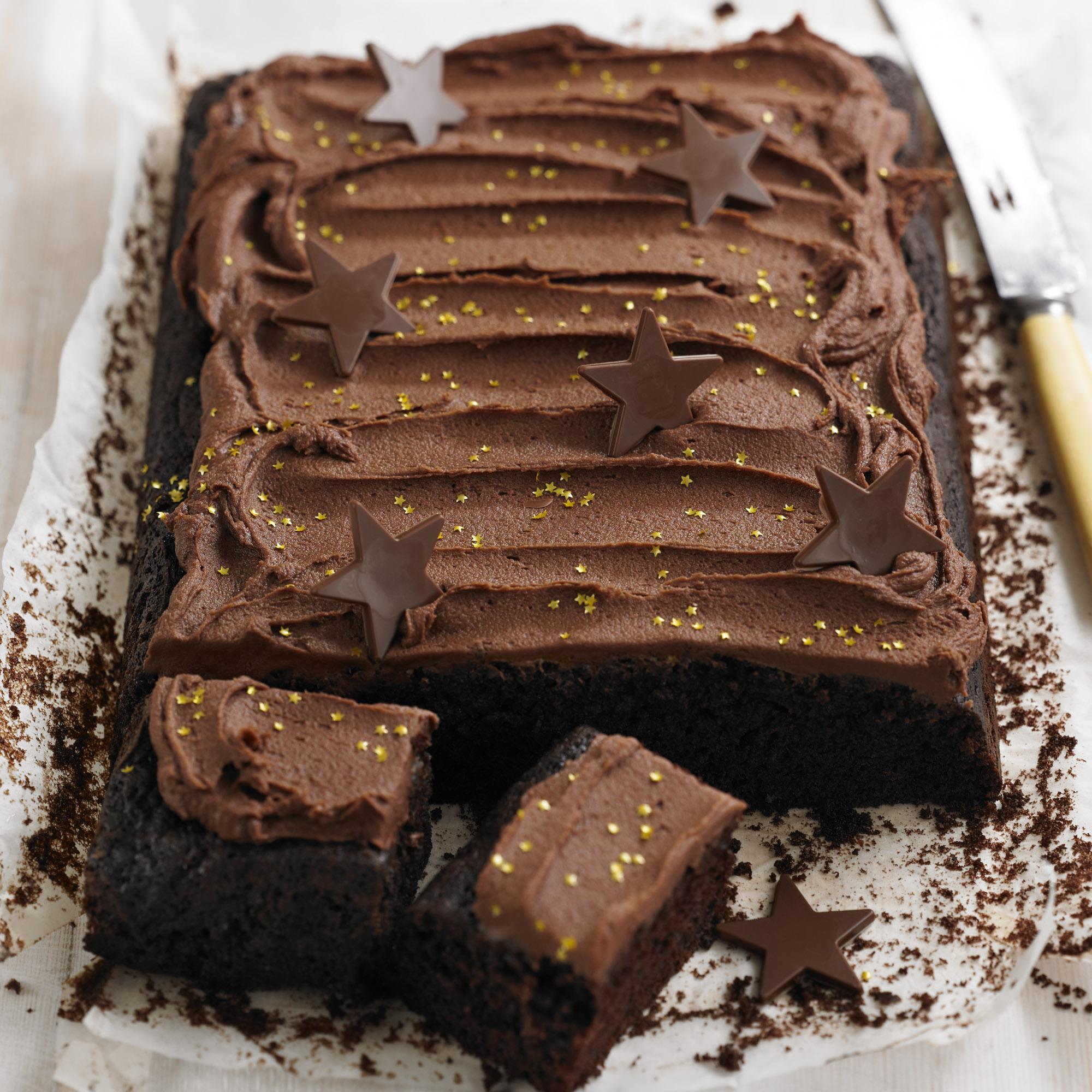 Tray Bake Cake Recipes Uk