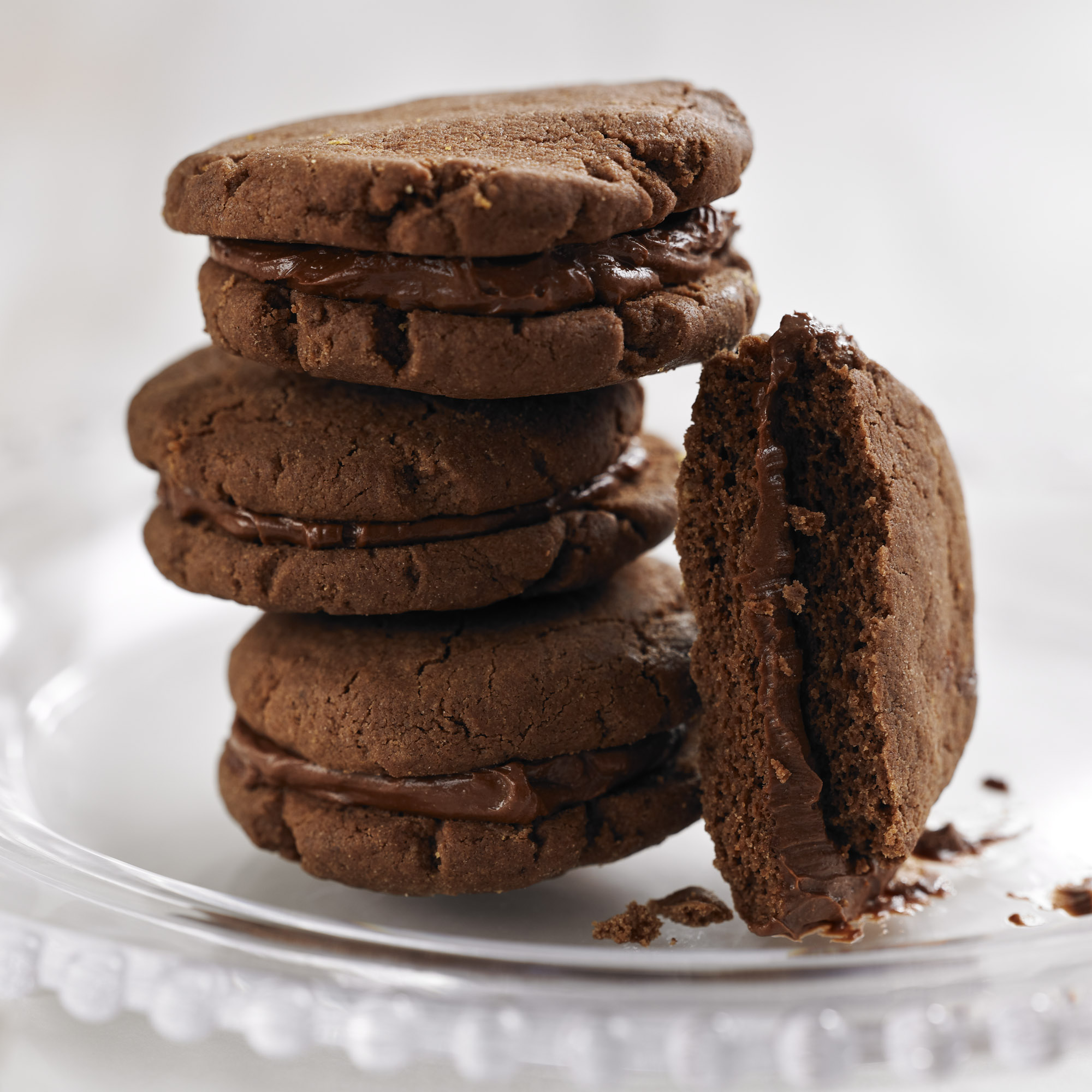 Easy double chocolate cookie recipe uk
