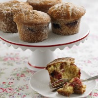 Jam doughnut muffins recipe