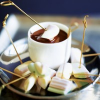 Chocolate and marshmallow dip recipe