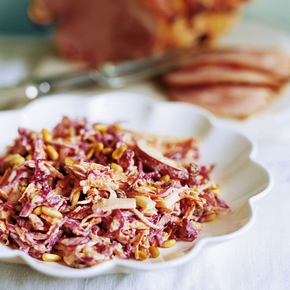 Apple Slaw For Winter Recipe — Dishmaps