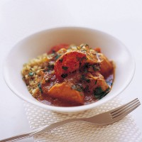 Pumpkin and sweet potato curry recipe
