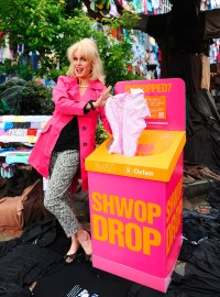 Joanna Lumley Joins M&S To Launch Shwopping Campaign