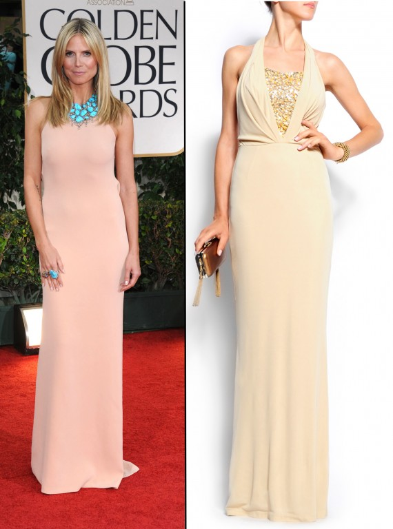 golden globes inspired dresses-woman and home-Heidi Klum
