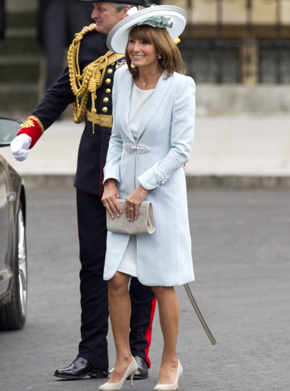 top 10 royal wedding fashion hightlights-woman and home-Carole Middleton