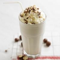 Vanilla Malt Milkshake