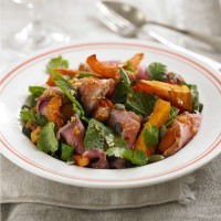 Sweet Thai duck breast and butternut salad recipe