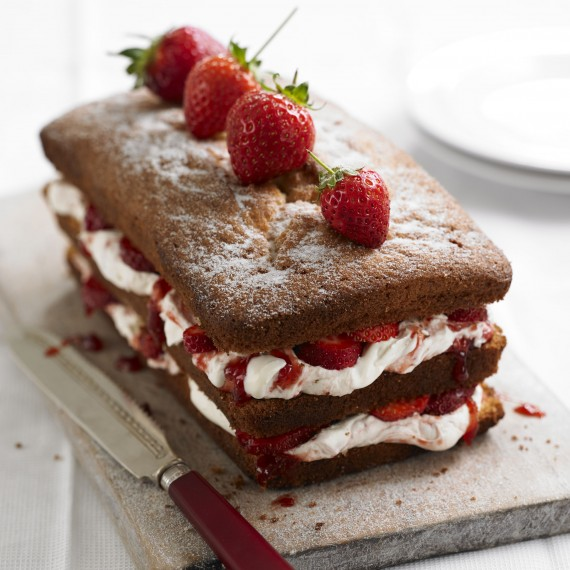 Victoria Sandwich Loaf Recipe