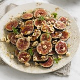 Honey spiced figs with hazelnuts recipe