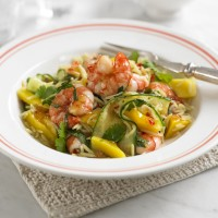 Prawn &amp; mango rice salad recipe