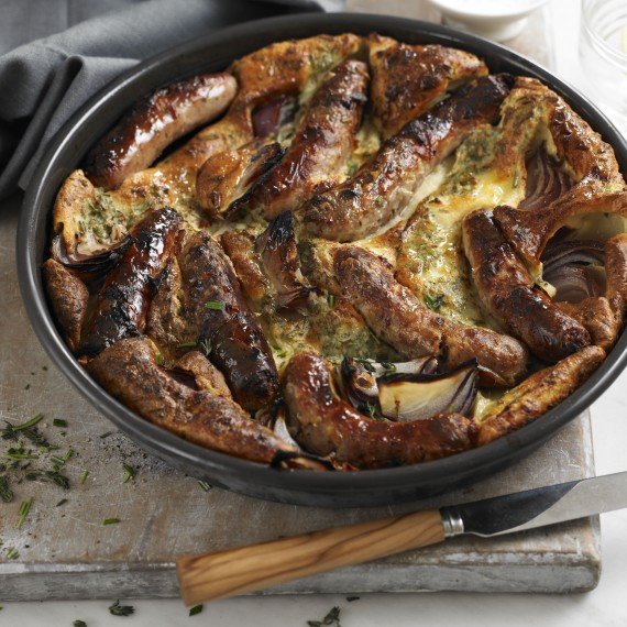 Herby Toad in the Hole - Woman And Home