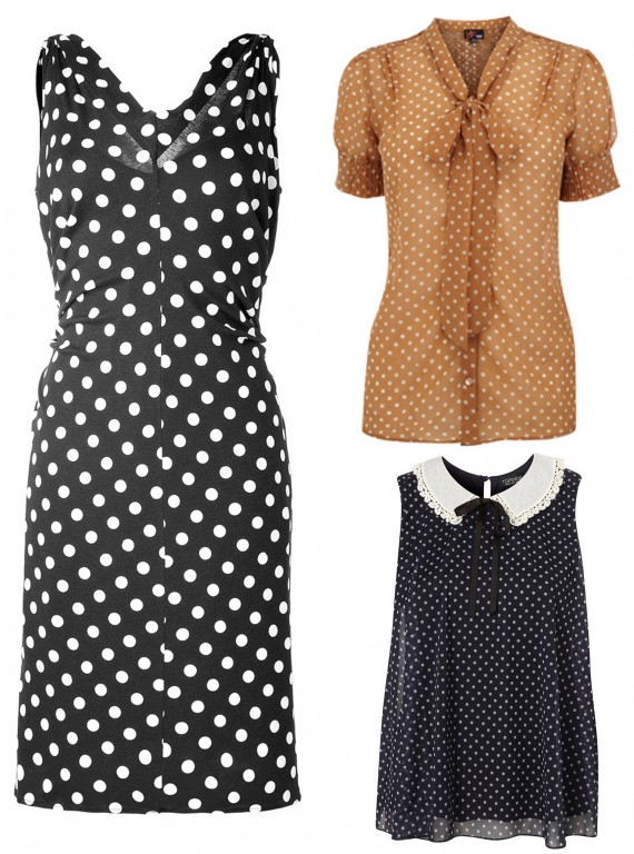 autumn winter 2011 trends-woman and home-Polka Dots