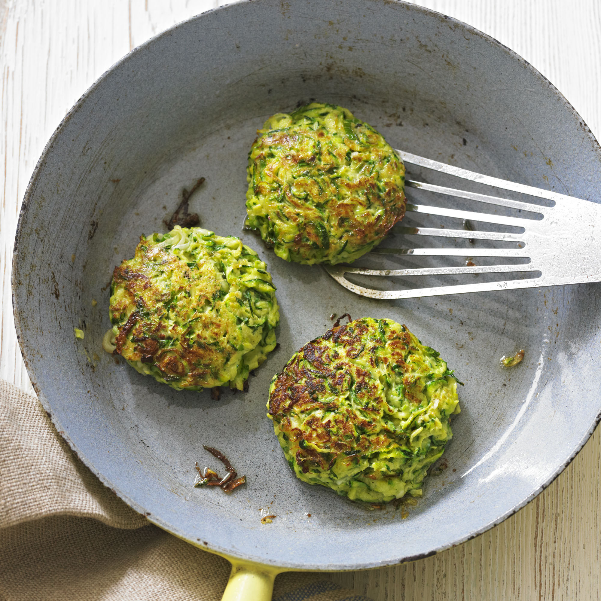 courgette fritters woman and home