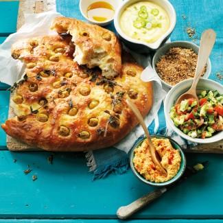 Olive focaccia recipe