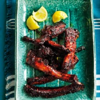 Cajun ribs with molasses recipe