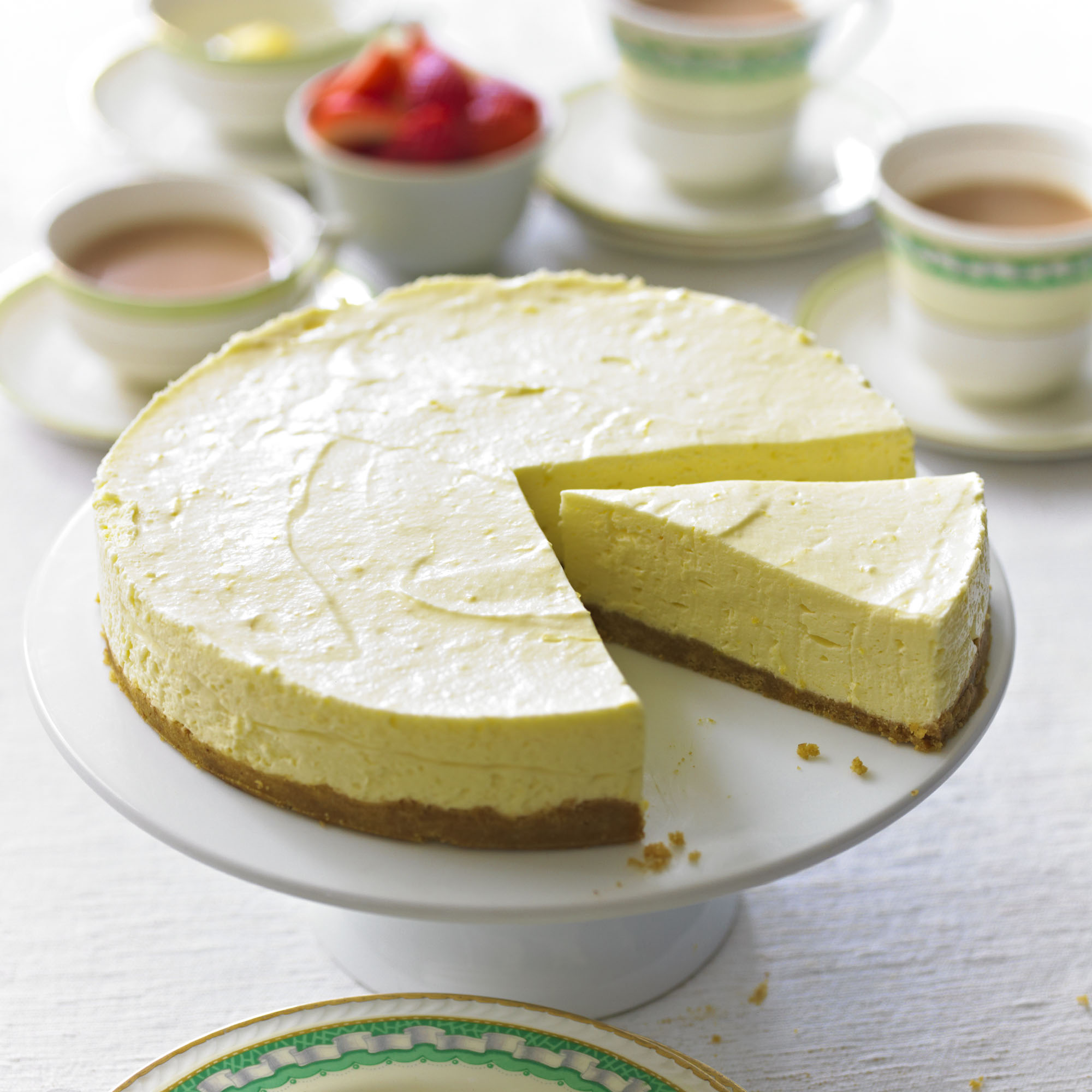Lemon Cheesecake - Woman And Home