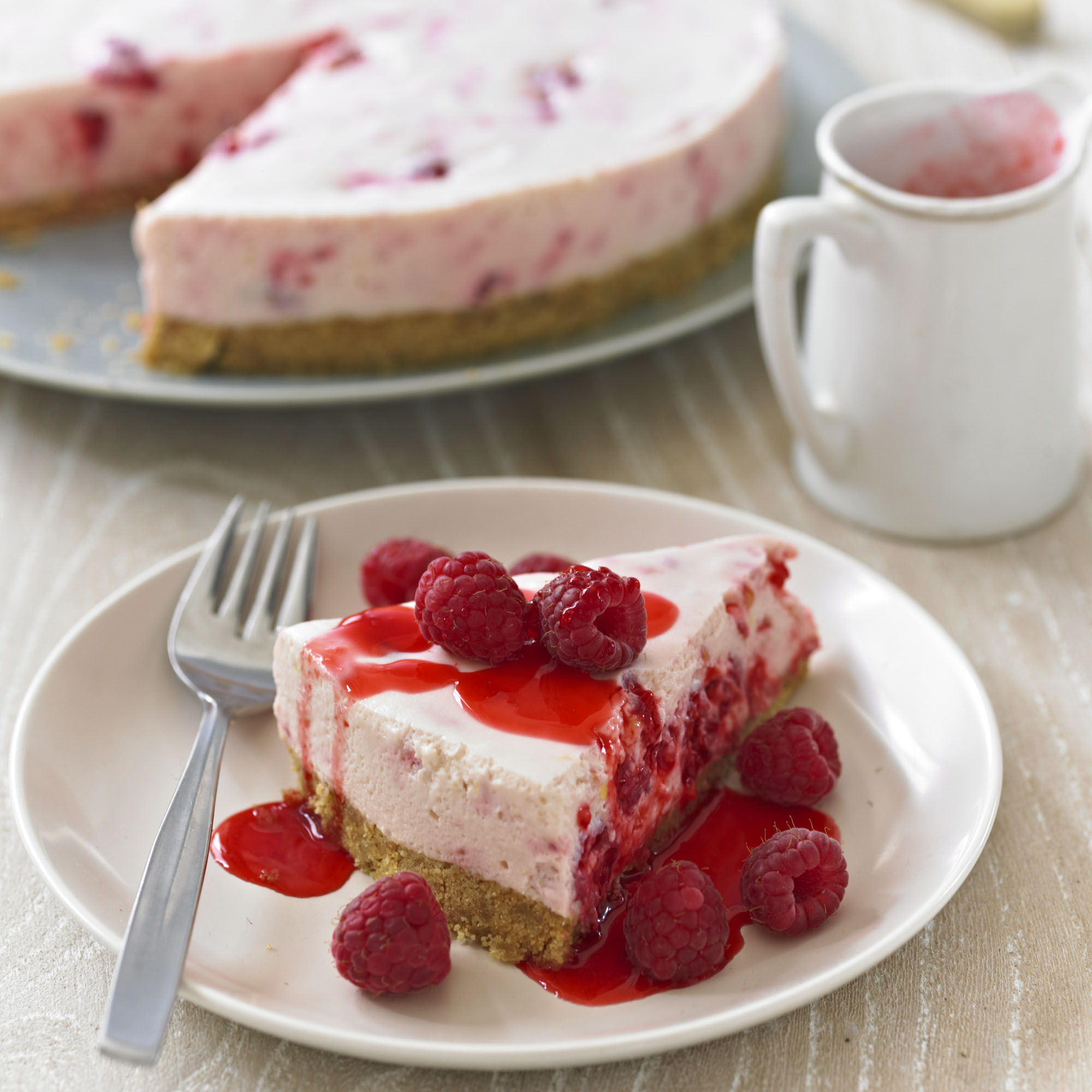 White Chocolate Strawberry Cheesecake Jamie Oliver