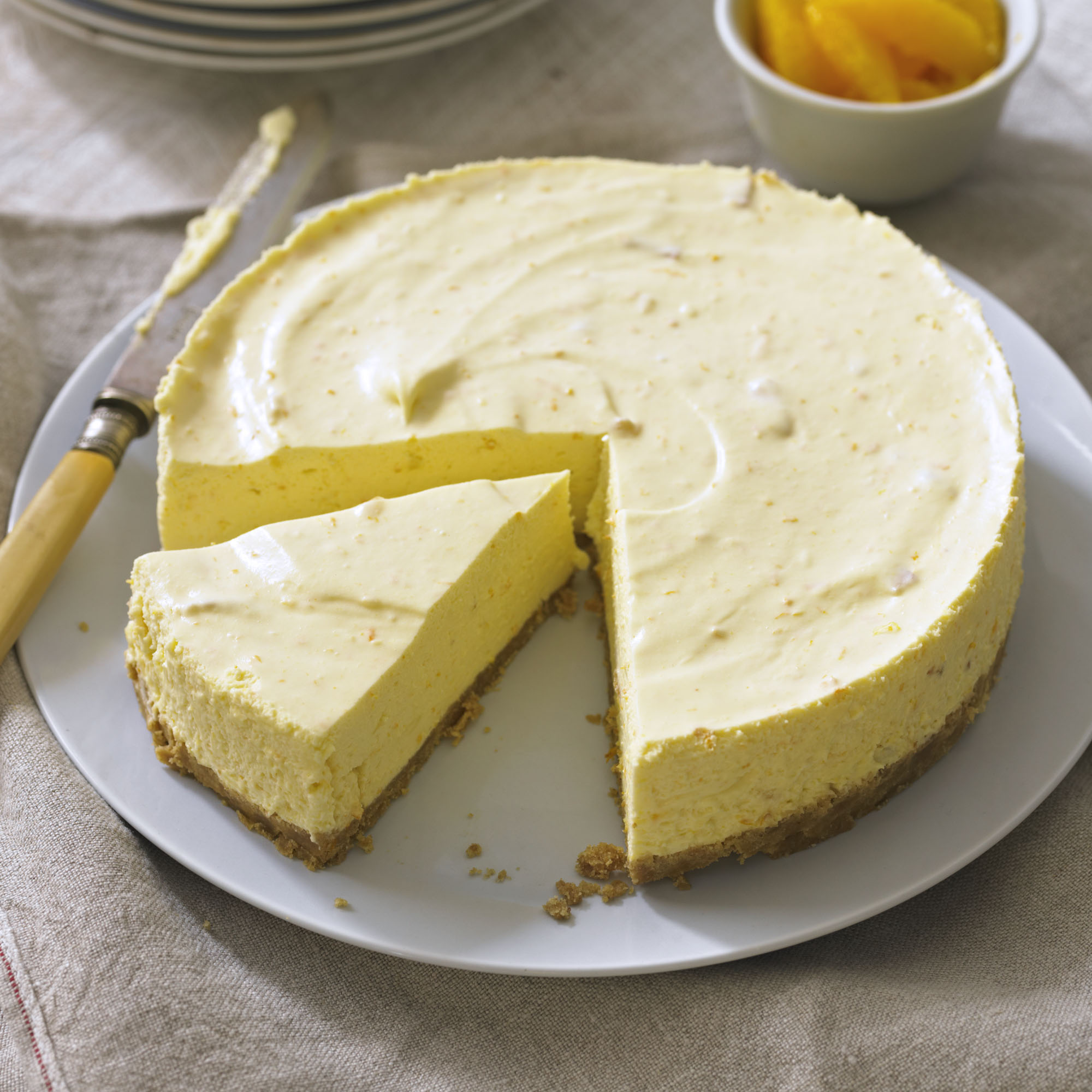 Seville Orange Cheesecake Recipe