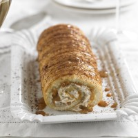 Banoffee Swiss Roll