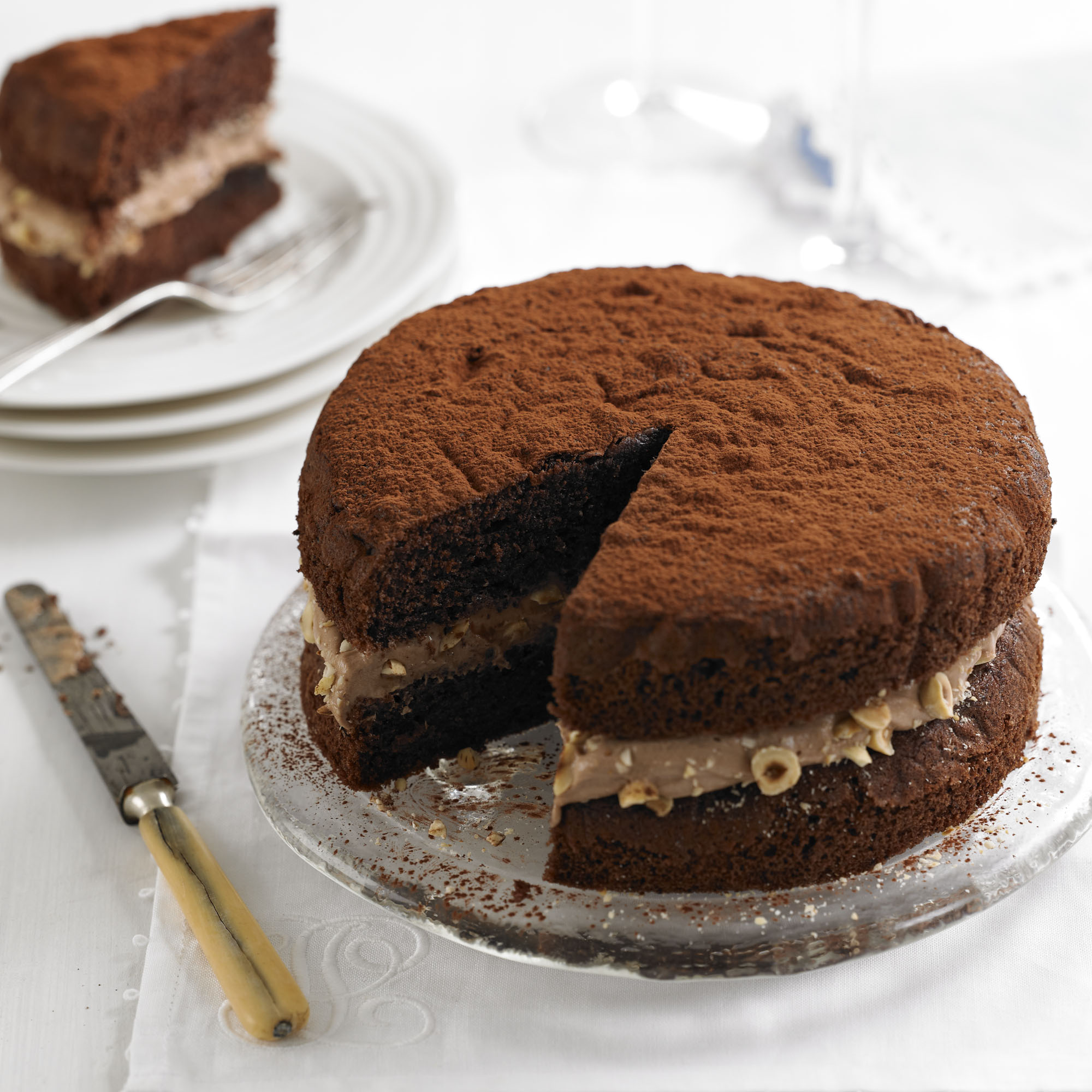 Simple chocolate sponge cake recipe