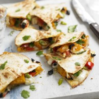 Chilli & butternut squash quesadillas recipe