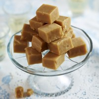 Vanilla Clotted Cream Fudge