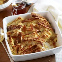 Marmalade bread and butter pudding recipe