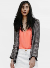 Zara Multi-Coloured Studded Blazer