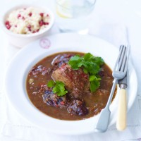 Slow braised spicy pork and prunes recipe