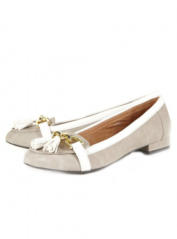 Topshop Vatican snaffle trim loafers-Flat shoes-ballet shoes-flat pumps-woman and home