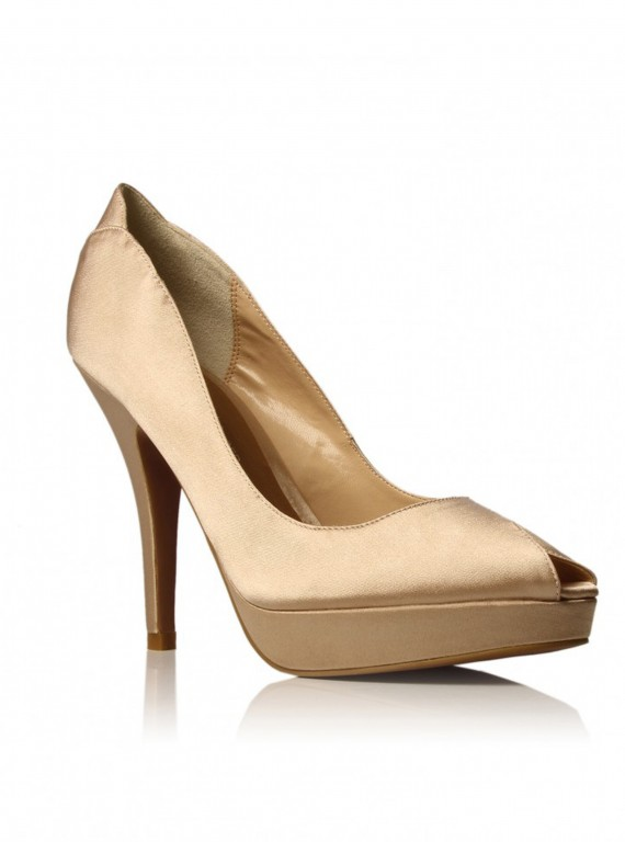glamorous party shoes-accessories-partywear-woman and home-fashion-KG Kurt Geiger Hallie nude heel