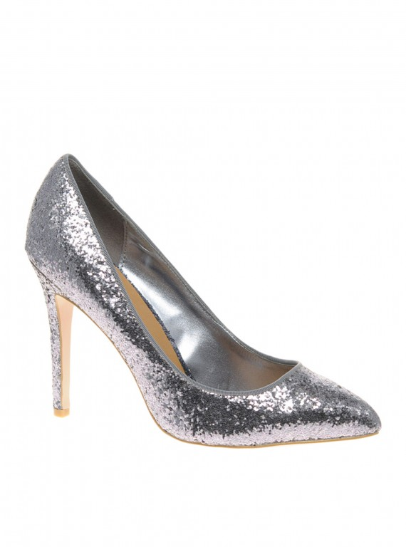 glamorous party shoes-accessories-partywear-woman and home-fashion-Miss KG Dancer Glitter pointed court shoe