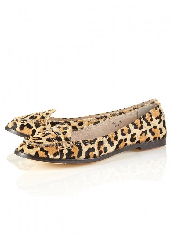 new season shoes-accessories-woman and home-fashion-Topshop Madison leopard print loafers