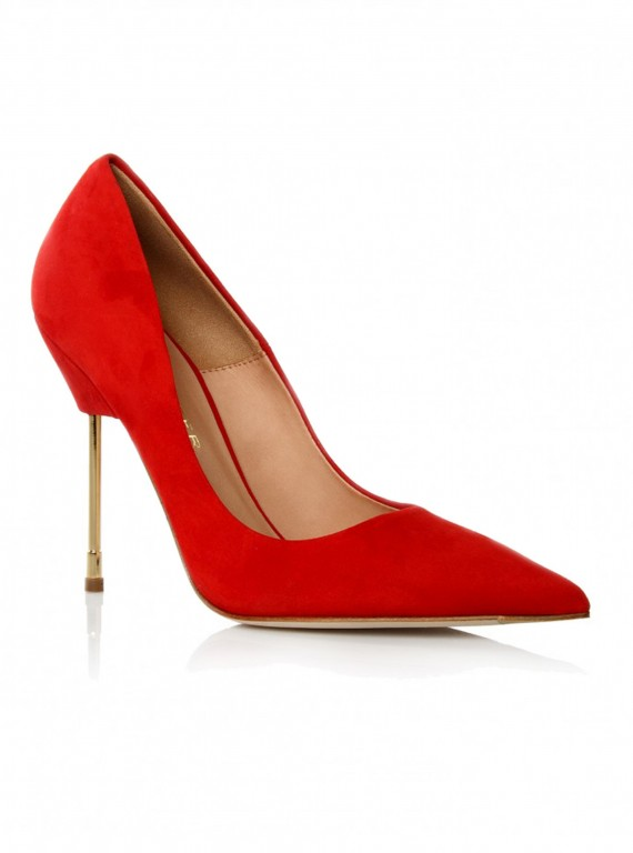 new season shoes-accessories-woman and home-fashion-Kurt Geiger Elliot red shoes