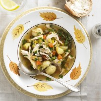 Roast chicken soup recipe