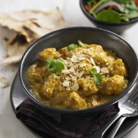 Lightened-up chicken korma recipe