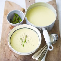 Asparagus soup recipe