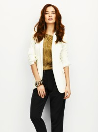 Wallis Ivory Ponte Jacket